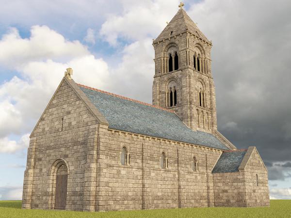 Read more about the article Vieille église de Thaon