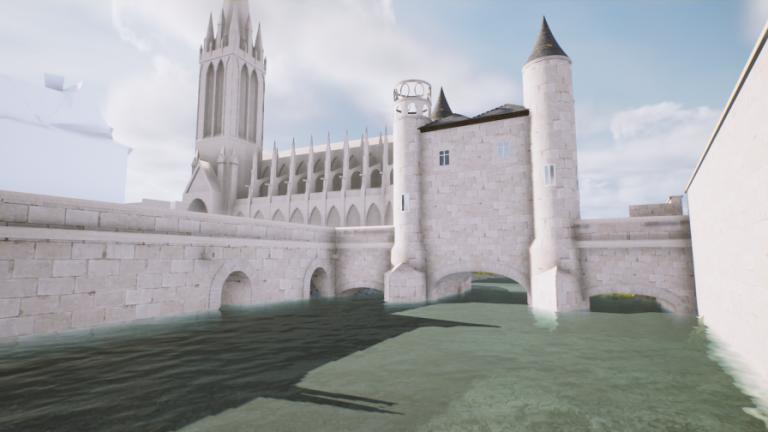 Les fortifications de la ville de Caen