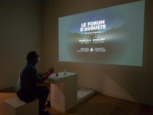 Read more about the article Le forum d'Auguste au Ier siècle ap. J.-C. restitué pour le Musée de la Romanité à Nîmes